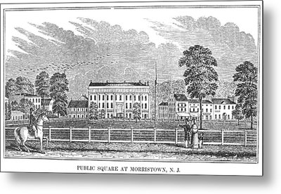 Morristown, 1844 Metal Print by Granger