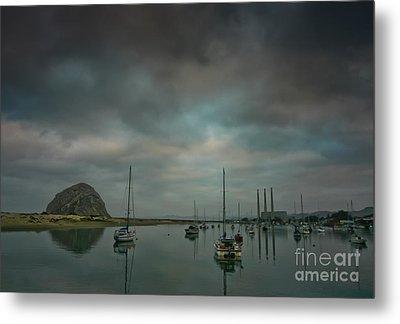 Morro Bay Metal Print by Mitch Shindelbower