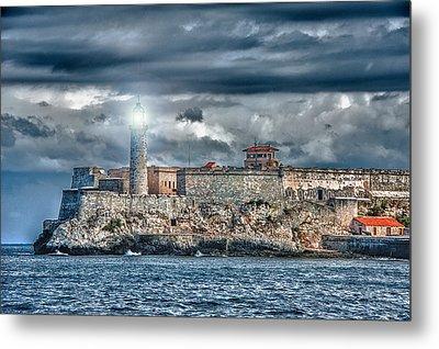 Morro Castel Metal Print