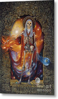 Mors Santi Metal Print