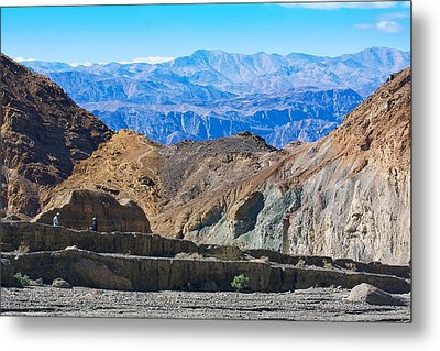 Metal Print featuring the photograph Mosaic Canyon Picnic by Stuart Litoff