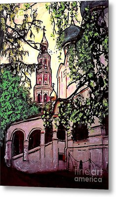 Moscow Church Metal Print by Sarah Loft