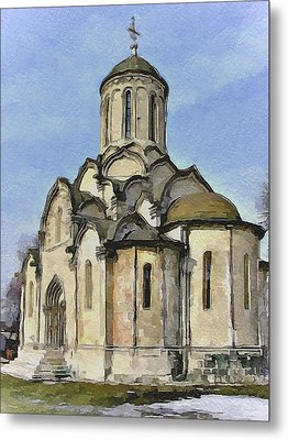 Moscow Old Streets 32 Metal Print by Yury Malkov