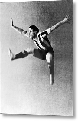 Moscow Opera Ballet Dancer Metal Print by Underwood Archives