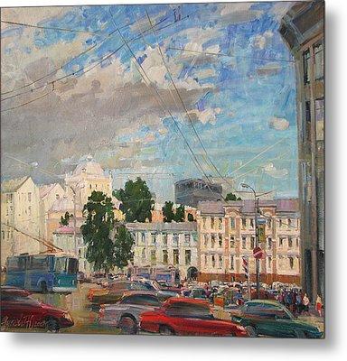 Moscow Summer 09 Metal Print by Juliya Zhukova