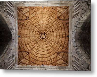 Mosque Ceiling Metal Print
