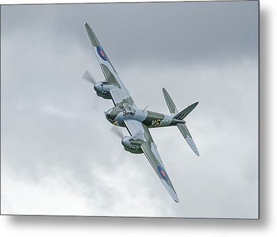 Mosquito At Ardmore Metal Print by Barry Culling