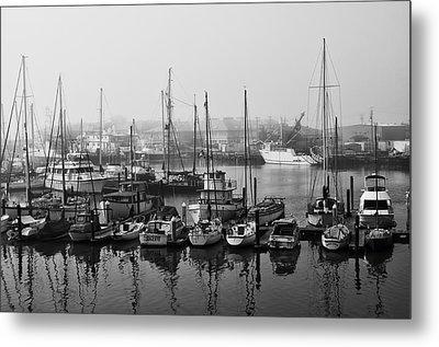 Moss Landing Harbor Metal Print