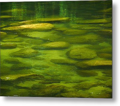 Mossman Metal Print by Evelyn Tambour