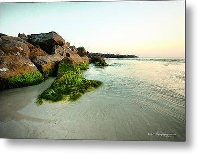 Mossy Lagoon Metal Print by Volker blu Firnkes