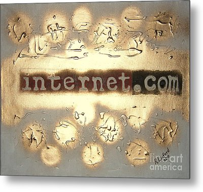 Most Expensive Domain Name In The World 1 Metal Print by Richard W Linford