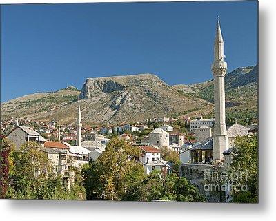 Mostar In Bosnia Herzegovina Metal Print