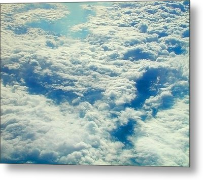 Metal Print featuring the photograph Mostly Cloudy by Mark Greenberg