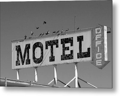 Motel For The Birds Metal Print by Peter Tellone