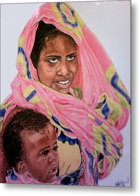 Mother And Child Metal Print by Arron Kirkwood
