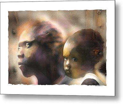Mother And Child Metal Print by Bob Salo