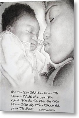 Mother And Child Metal Print by Melodye Whitaker
