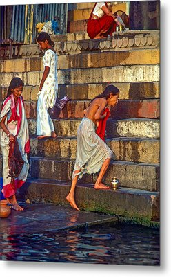 Mother Ganges Metal Print by Steve Harrington