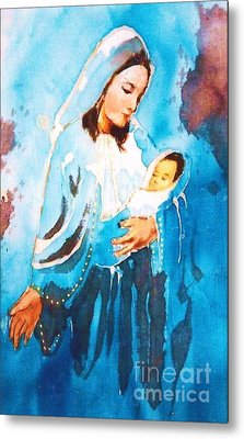 Mother Maria Metal Print by Rose Wang