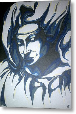 Mother Mary Concept Metal Print by Michael Toth