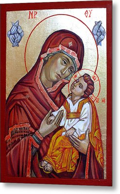 Mother Of God Metal Print by Filip Mihail