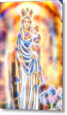 Mother Of Light Metal Print