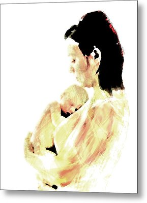 Motherhood Metal Print by Lisa McKinney