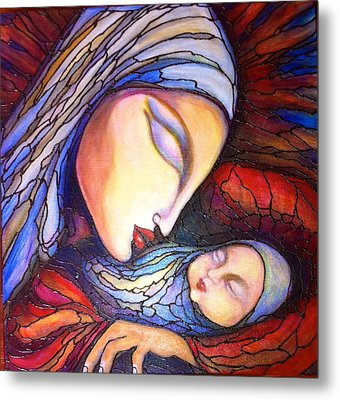 Motherhood Metal Print by Rae Chichilnitsky