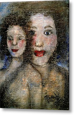 Motherly Love Metal Print by Natalie Holland
