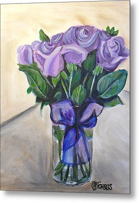 Mother's Day Roses Metal Print by Melissa Torres