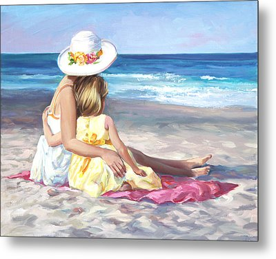 Mother's Love Metal Print by Laurie Hein