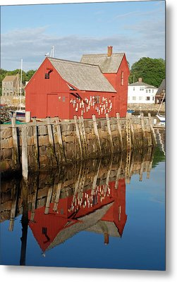Metal Print featuring the photograph Motif 1 With Reflection by Richard Bryce and Family