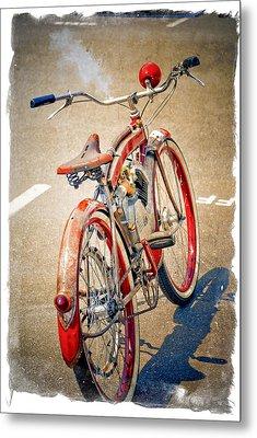 Motor Bike Metal Print
