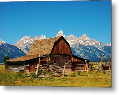 Moulton Barn Metal Print by Dany Lison