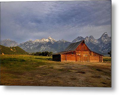 Moulton's Barn Metal Print