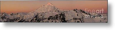 Mount Baker Majestic Metal Print by Mike Reid