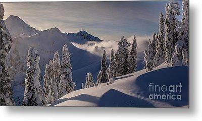 Mount Baker Snowscape Metal Print by Mike Reid