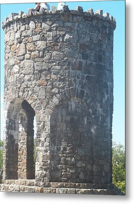 Mount Battie Stone Tower II Metal Print