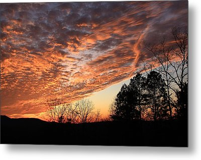 Mount Cheaha Sunset-alabama Metal Print by Mountains to the Sea Photo