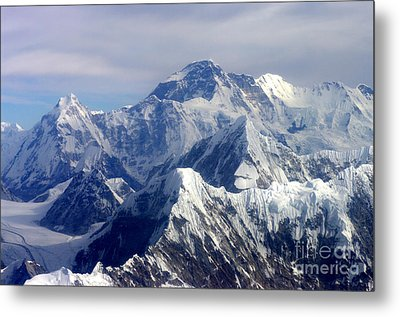 Mount Everest  Metal Print by Jacqi Elmslie