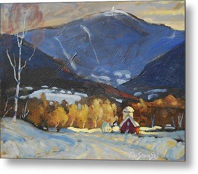 Mount Greylock From Williamstown Metal Print by Len Stomski