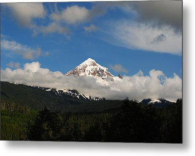 Mount Hood Oregon Metal Print by Robert  Moss