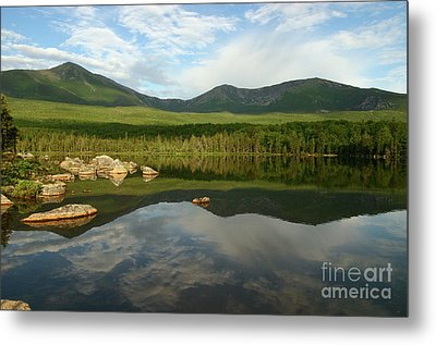 Metal Print featuring the photograph Mount Katahdin by Jeannette Hunt