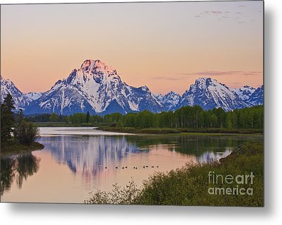 Mount Moran Sunrise Metal Print