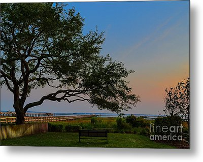 Mount Pleasant Sunset Metal Print