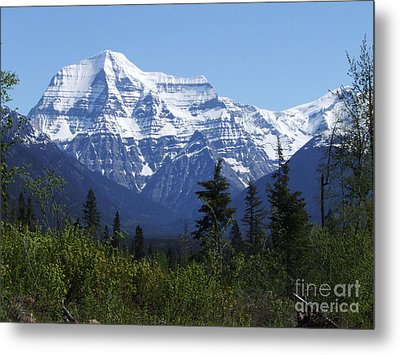 Mount Robson - Canada Metal Print by Phil Banks