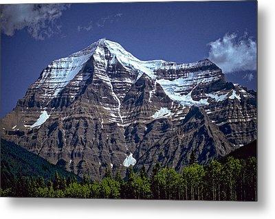 Mount Robson Metal Print by Richard Farrington