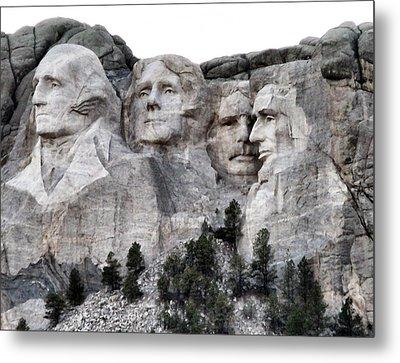 Mount Rushmore National Memorial Metal Print by Patricia Januszkiewicz