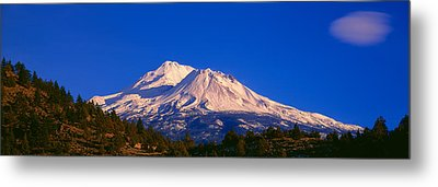 Mount Shasta At Sunrise, California Metal Print by Panoramic Images