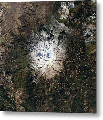 Mount Shasta Metal Print by Nasa